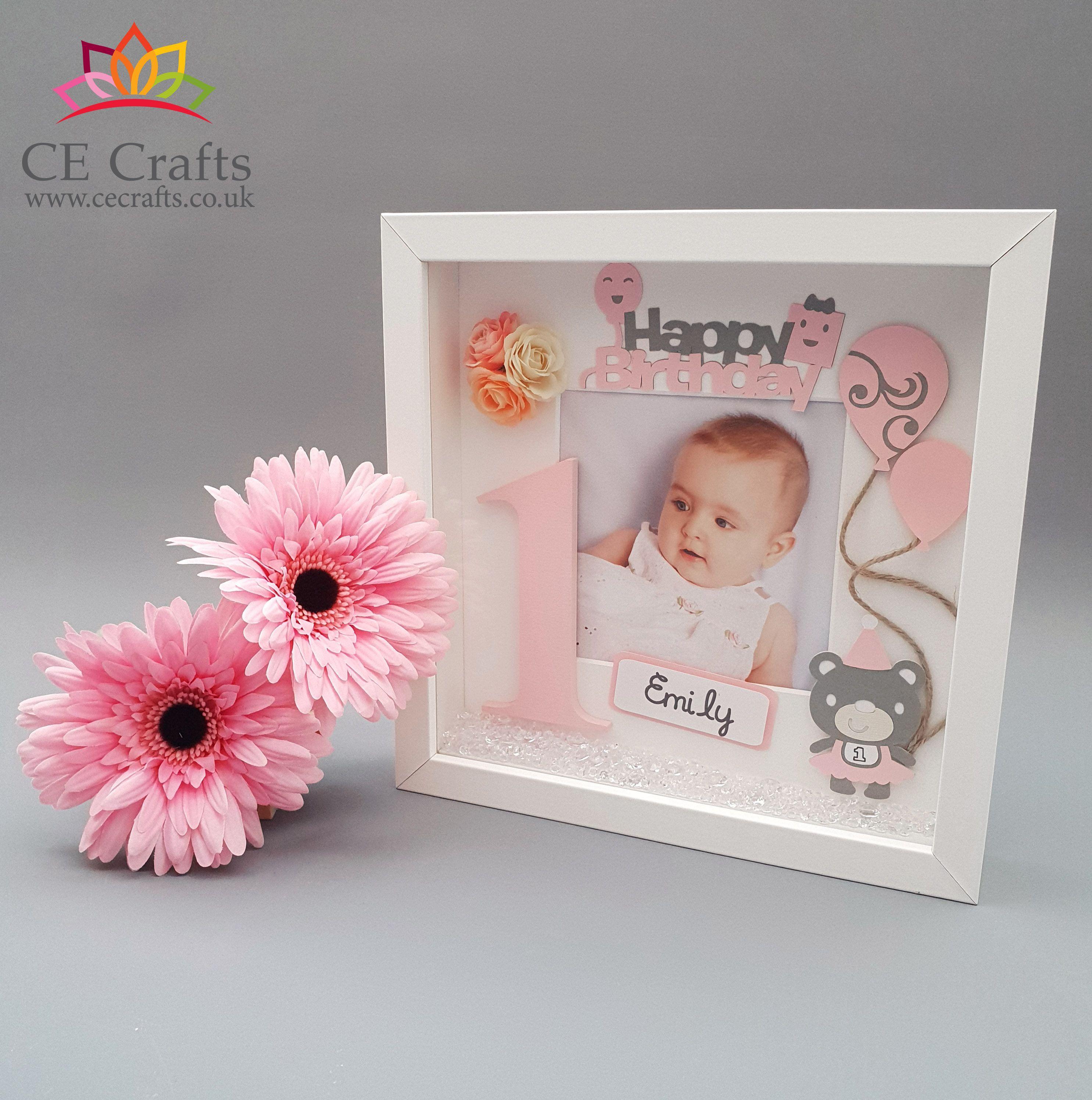 Personalised Baby Frame Letter Frame 1st Birthday Gift Toddler Gift Keepsake Box Personalized Baby Frame Baby Girl Nursery Diy Baby Girl Nursery Decor