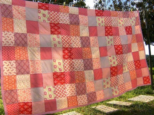 A Pega-Rabuda: Tilda's Quilt