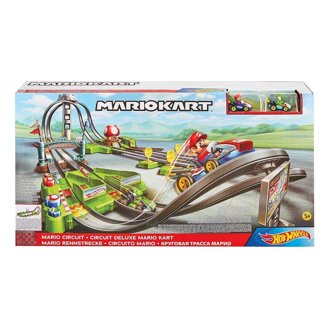 Hot Wheels Mario Kart Circuit Track Set Target Australia Hot Wheels Mattel Hot Wheels Hot Wheels Track