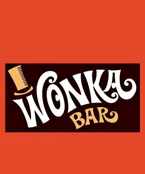 image about Printable Wonka Bar Wrapper identified as Pin upon Willy Wonka Video Evening