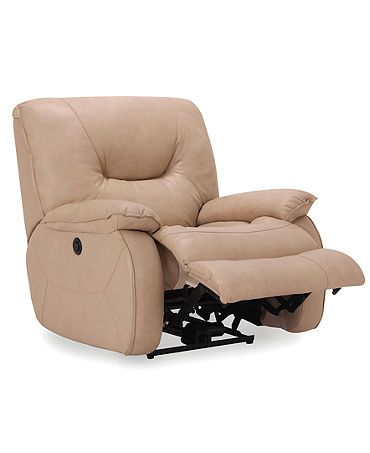 Dante Leather Seating with Vinyl Sides u0026 Back Power Recliner Chair 41 W x  sc 1 st  Pinterest & Dante Leather Seating with Vinyl Sides u0026 Back Power Recliner Chair ... islam-shia.org