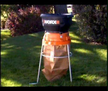 Worx Wg430 13 Amp Electric Leaf Mulcher Shredder Weekend