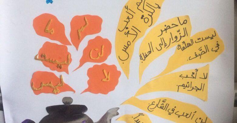 ما هي ادوات النفي في اللغة العربية