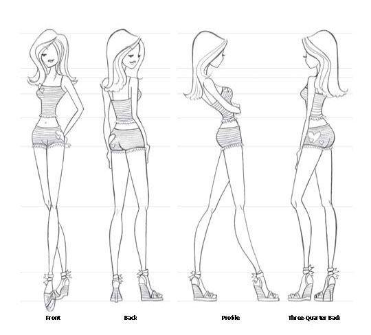 coffee fashion figure drawing | Fab Fashion Girls | Pinterest ...