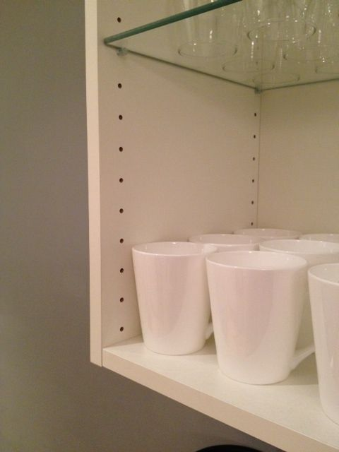 Use Ikea Variera Cover Caps To Fill Unsightly Unused Shelf