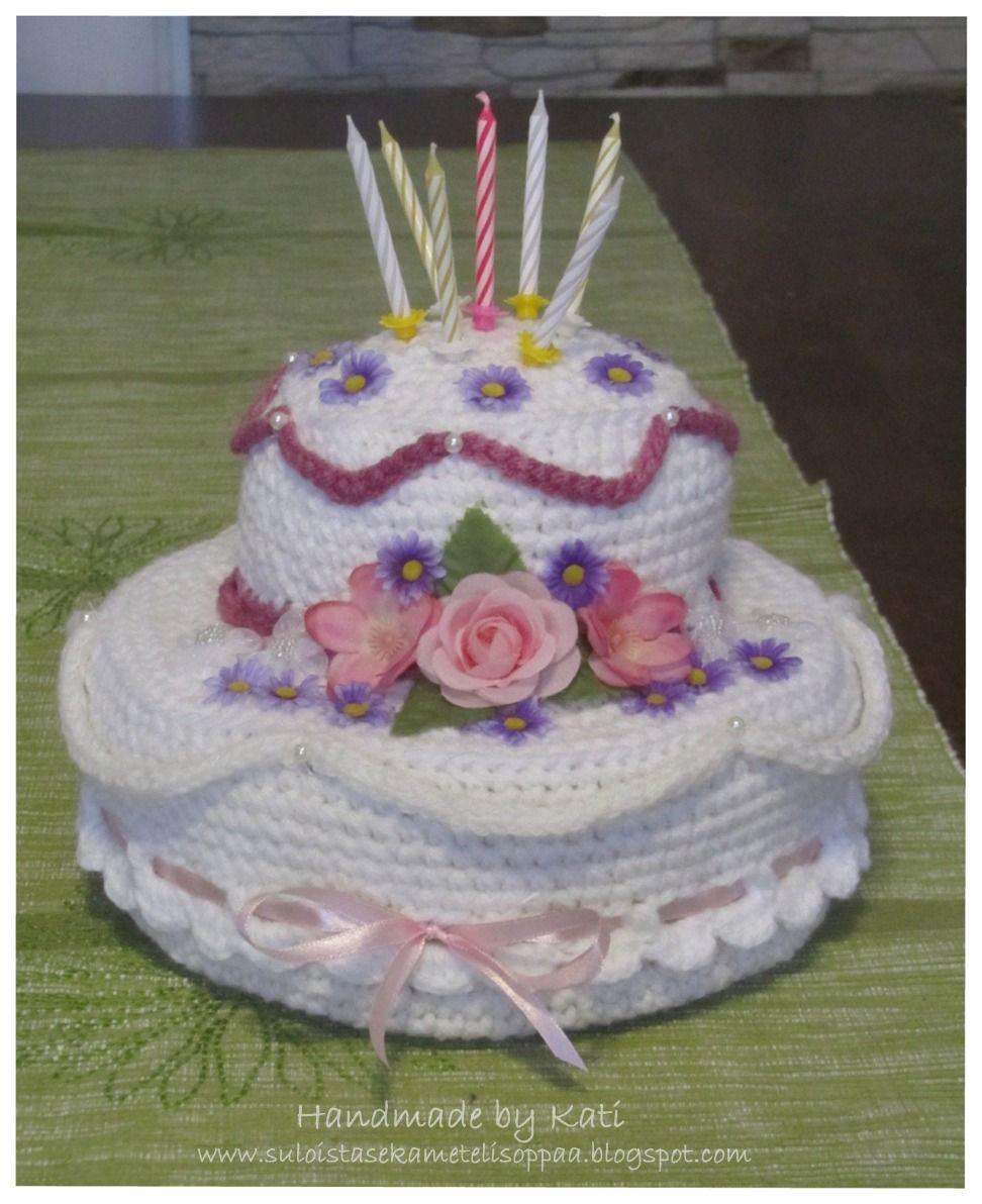 crochet, DIY, cake, playfood