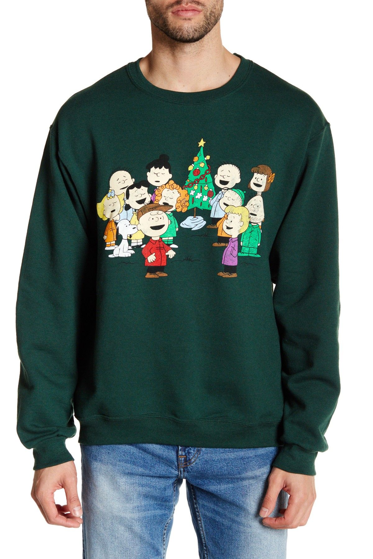 Peanut Christmas Sing Along Sweatshirt