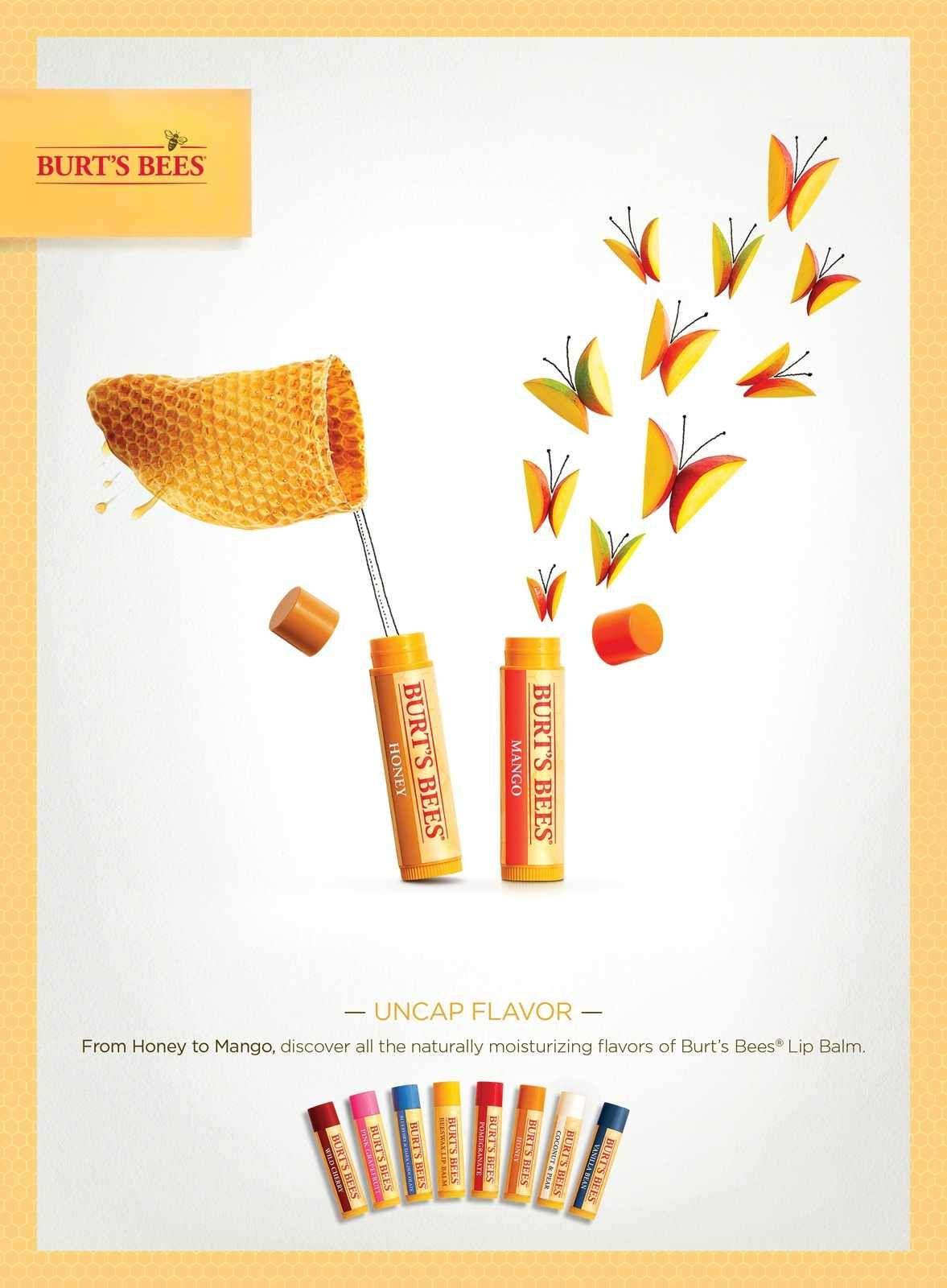 Burts Bees: Uncap Flavor, 3