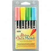 Marvy Uchida Bistro Chalk Markers - Fluorescent _ I want 'em.