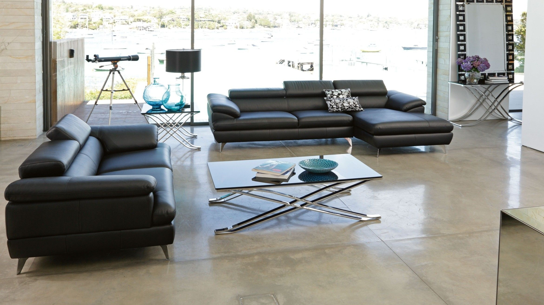 Boston 2 Piece Leather Lounge Suite   Furniture ideas   Pinterest ...