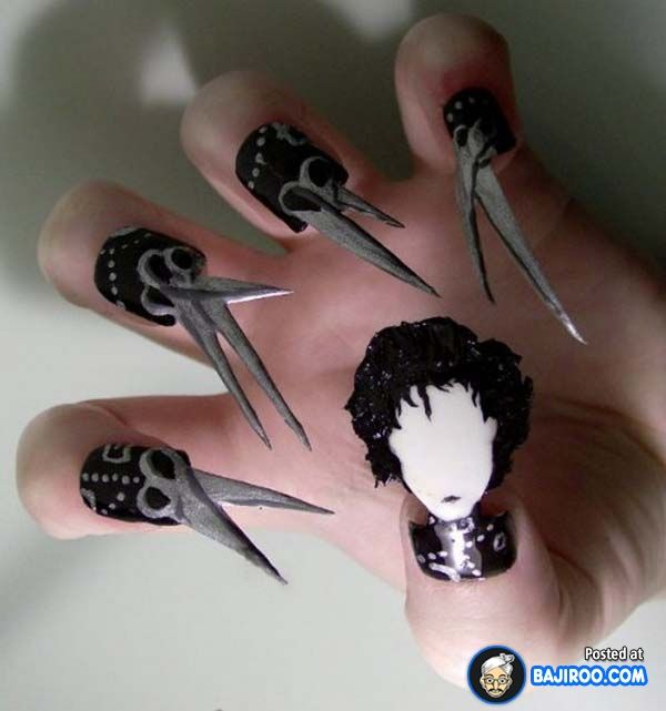 Amazing Awesome Latest Nail Paint Design Art Pics Images 14 Most