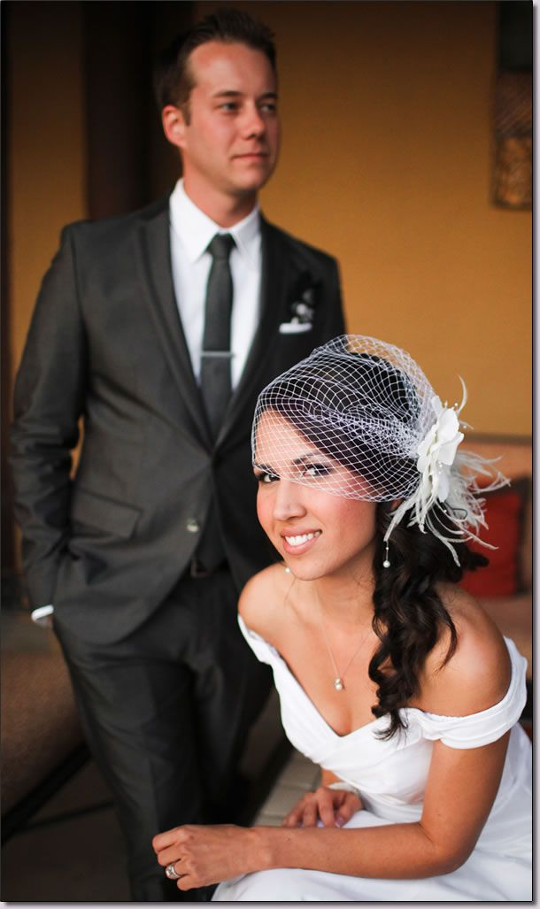 Hairstyle With Birdcage Veil Wedding Hairstyles Wedding Veils