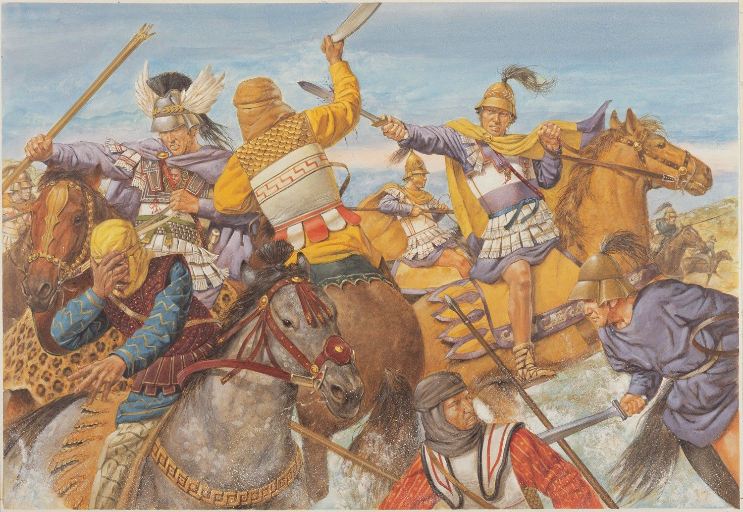 10 Things You Should Know About The Achaemenid Persian Empire: Alexander The Great In Battle