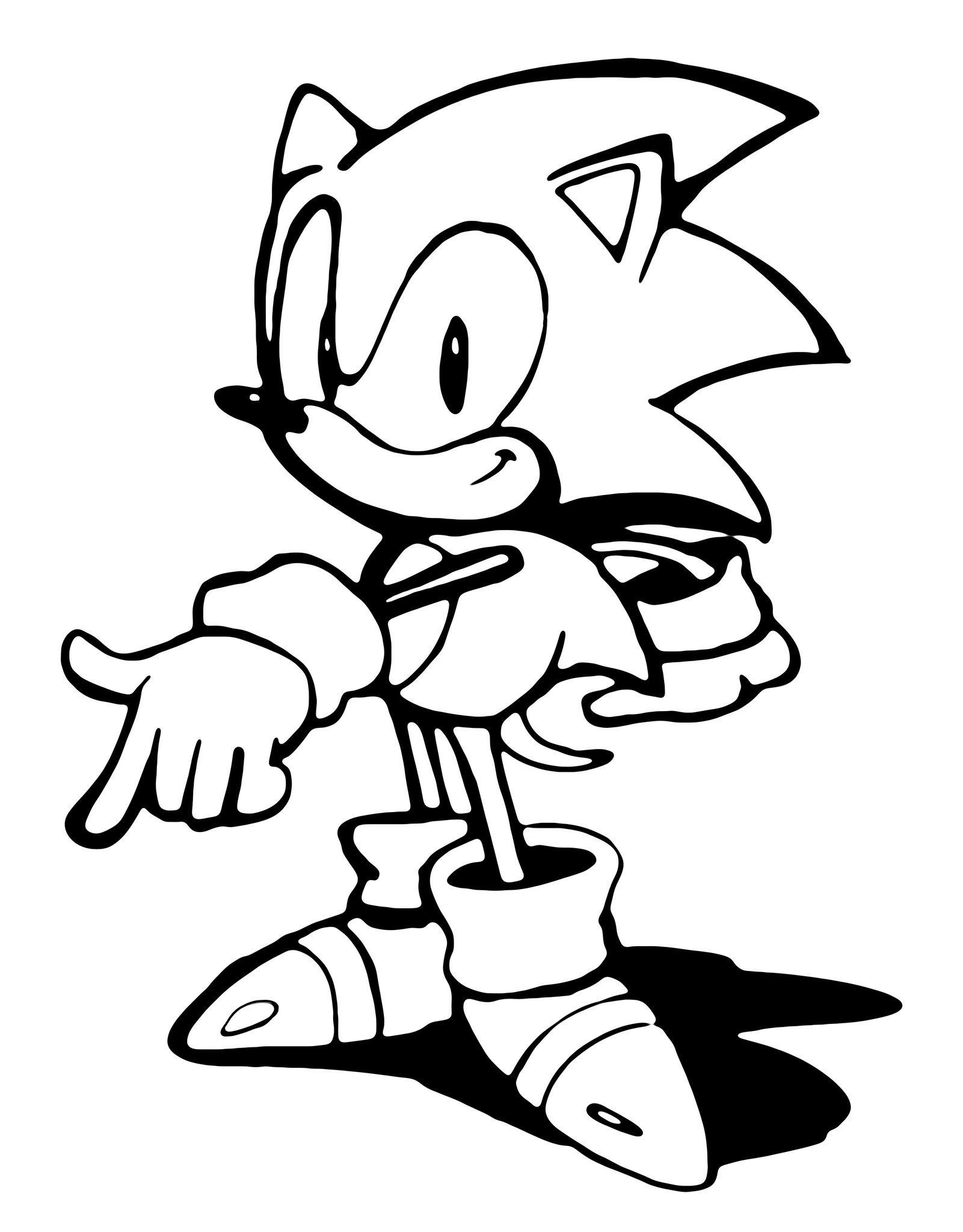 Pin By Kane On The Sonic Board Sonic Art Classic Sonic Concept Art Characters