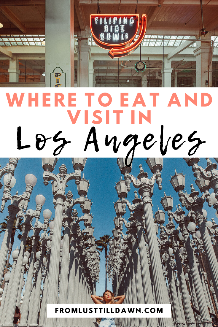 List of Los Angeles Restaurants    Looking for a Los Angeles itinerary that's unique? Fill your days in this fun city with eating, tarot card reading, hiking and more. Read my best travel tips!   -- PIN FOR LATER -- #losangeles #thingstodoinlosangeles #losangelescalifornia #losangelestravel #losangelesrestaurants #downtownlosangeles #losangelestravelguide #losangelesguide