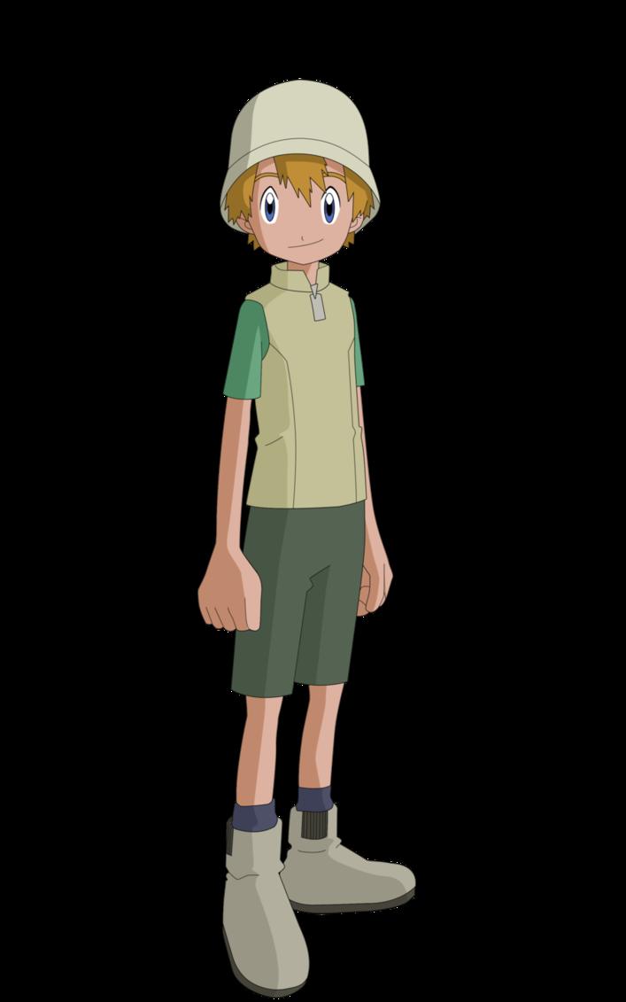 Takeru/TK Takaishi Summer by skylights01 Digimon