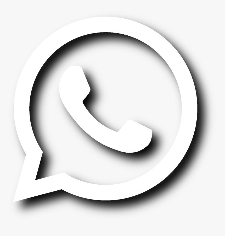Logo Whatsapp Branco Png Clipart , Png Download Whatsapp