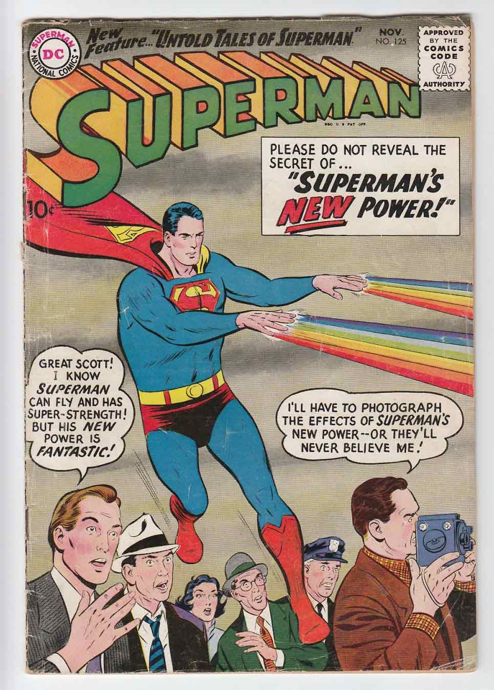 50s Superman Comics Magazine Lame