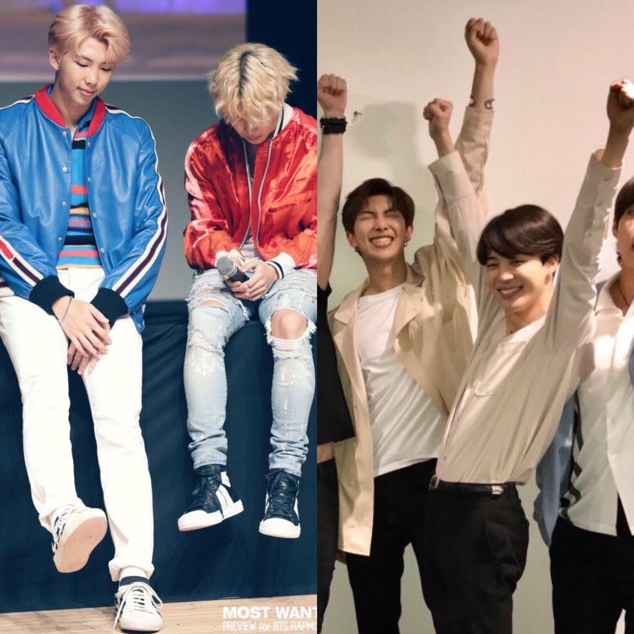 Minjoon height difference | Minjoon in 2019 | Bts, Bts jimin