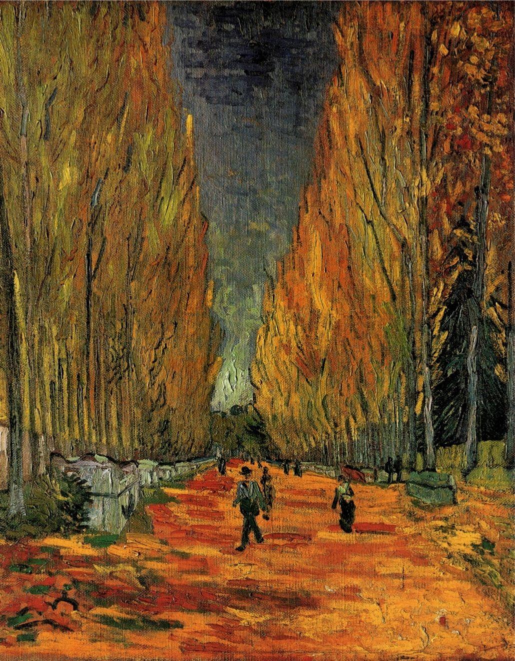 Vincent van Gogh Elysian Fields