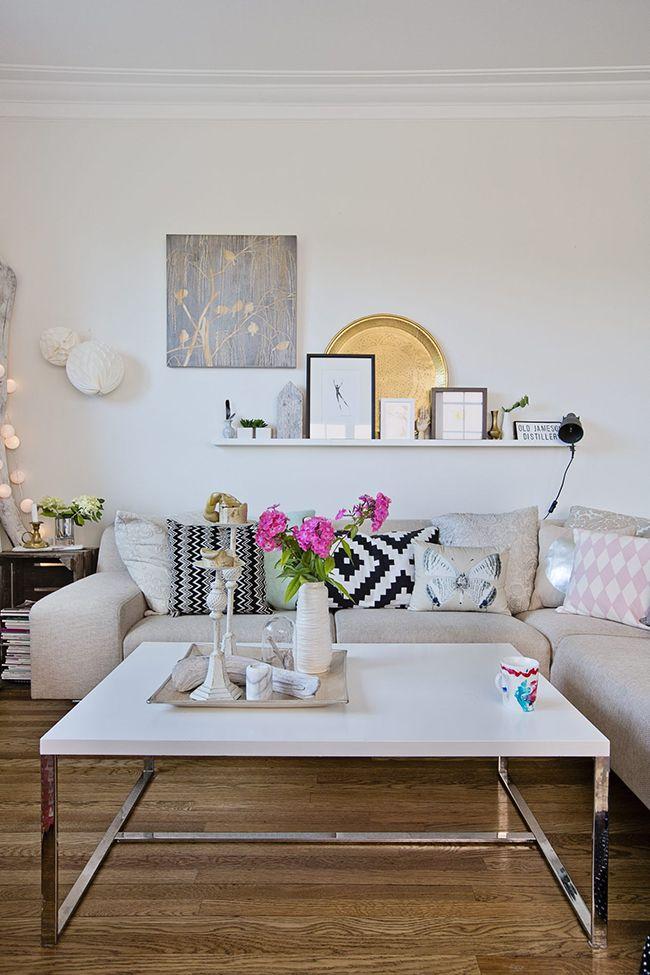 Una casa familiar llena de color! (Boho Deco Chic) Living rooms