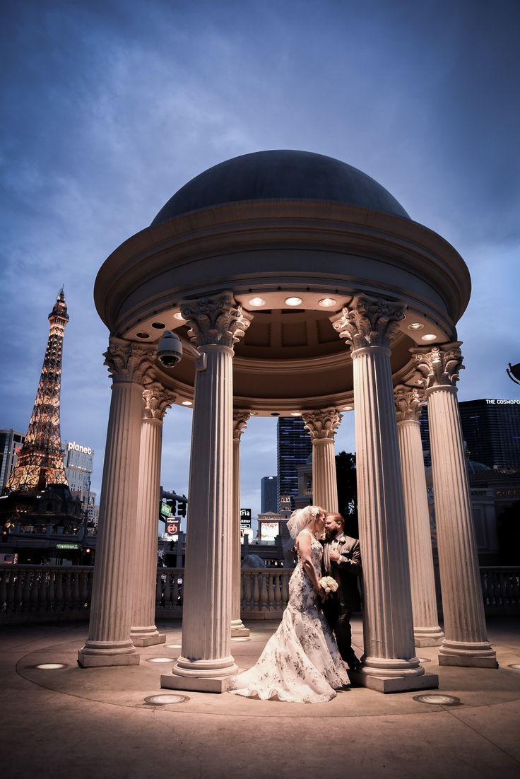 Caesar's Palace Las Vegas wedding photo by Chapel of the
