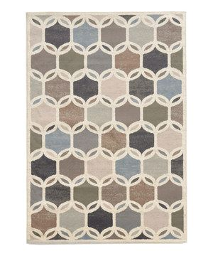 Look what I found on #zulily! Ivory Beehive Rug by Oriental Weavers #zulilyfinds