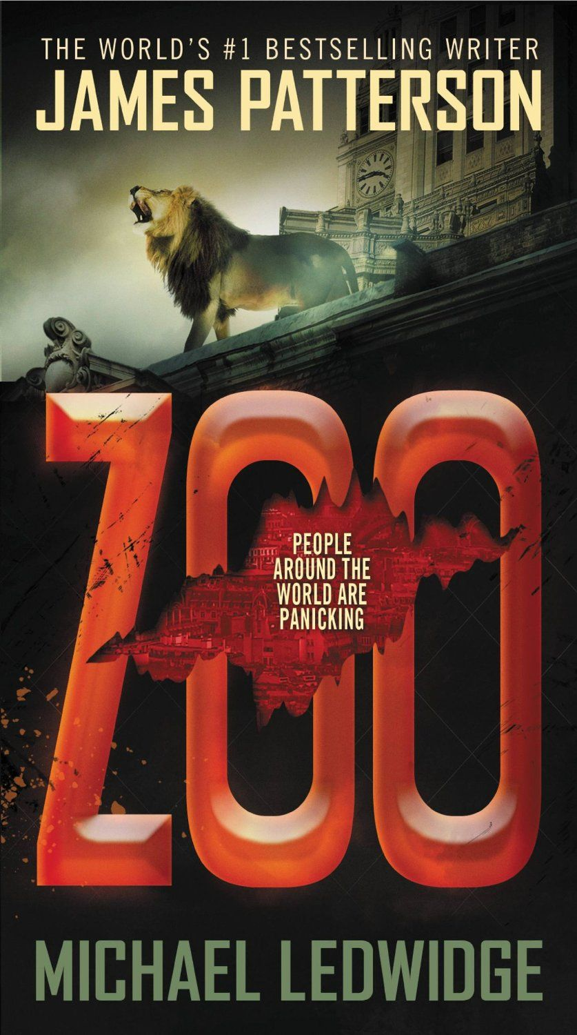 Image result for zoo james patterson book cover