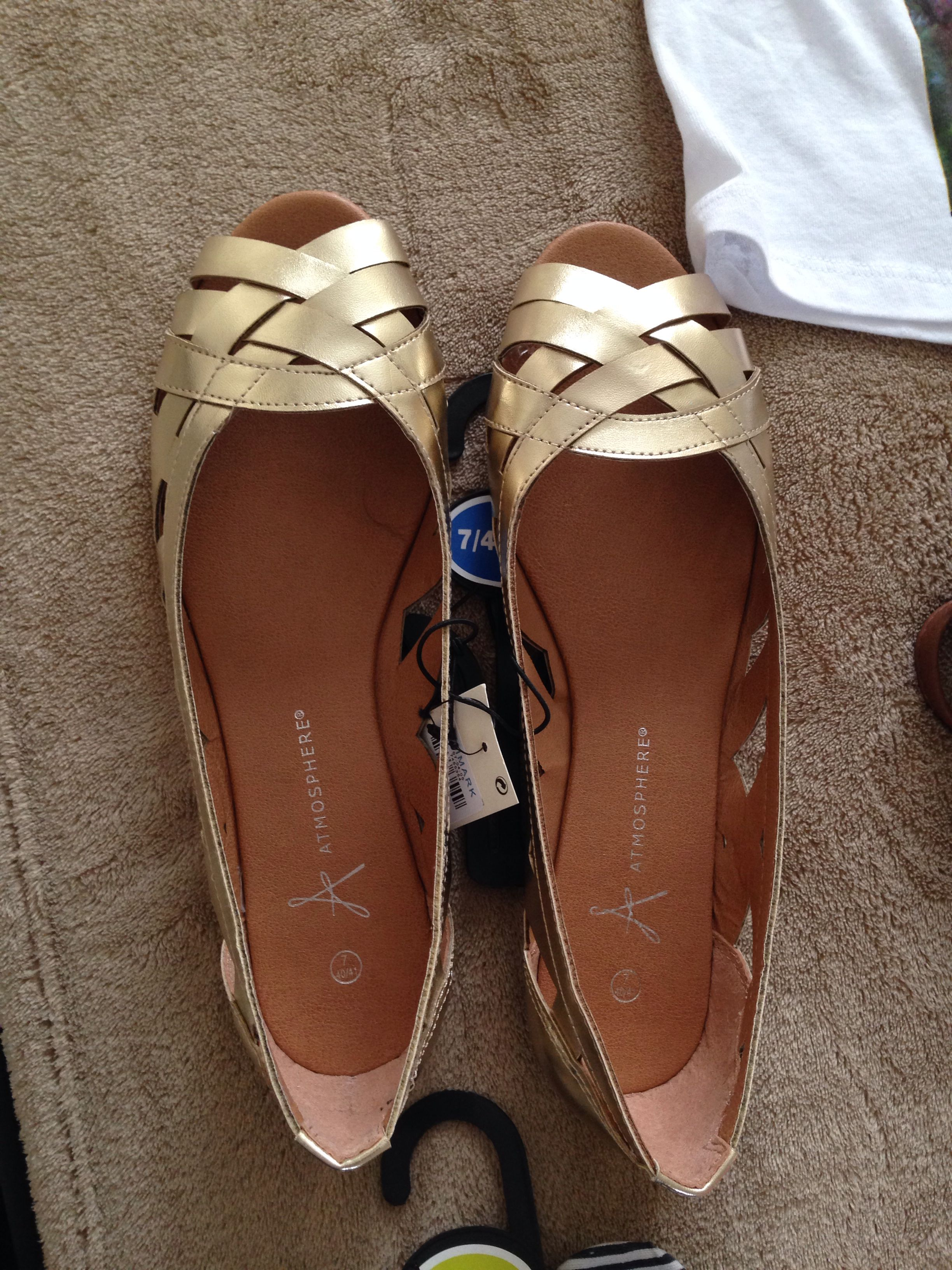Primark gold peep toe sandals my style pinterest - My peep toes ...