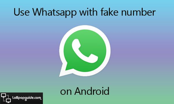 whatsapp-with-fake-number | Tech Tips & Tricks | Fake number, Fake