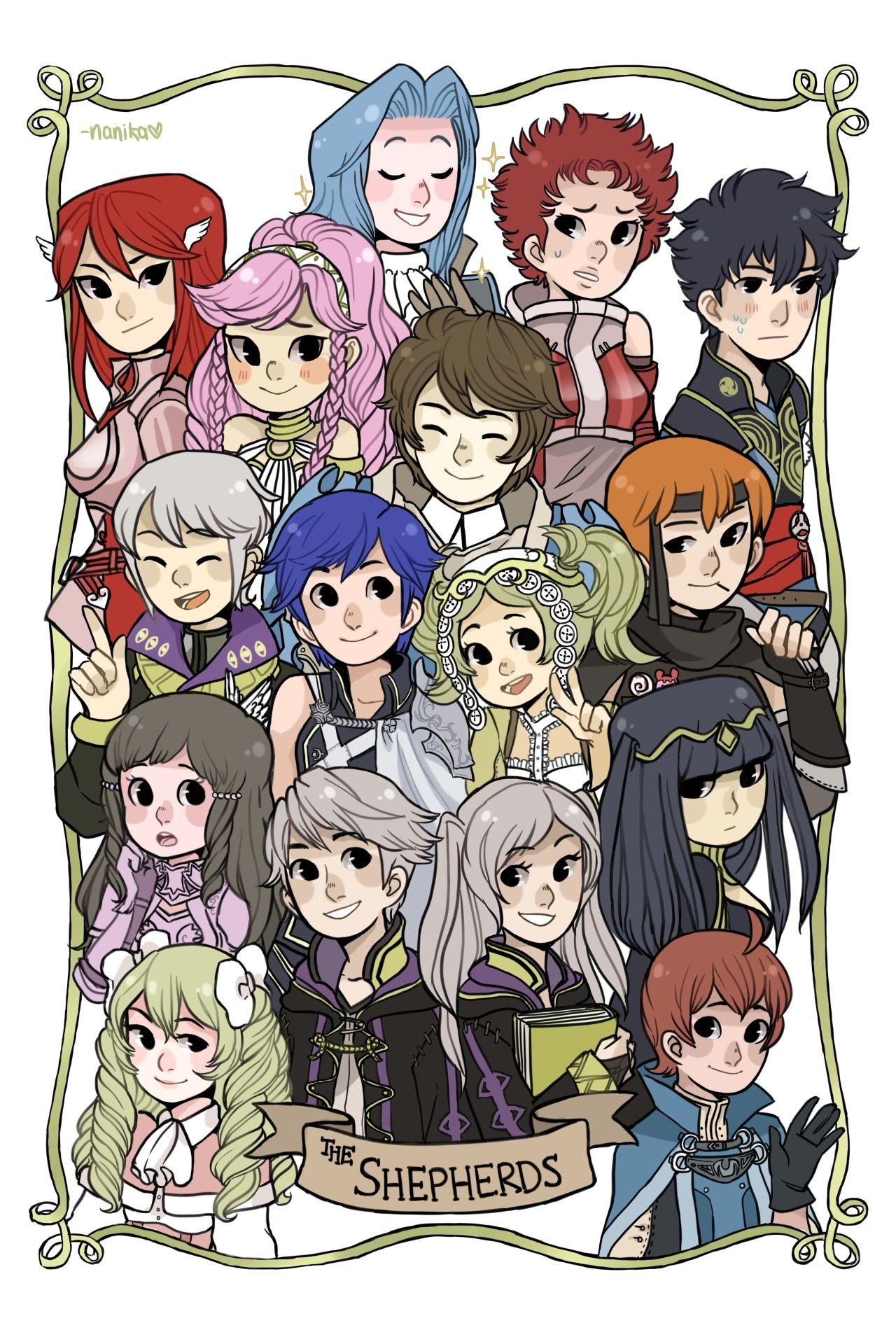Ahem Female Robin, Male Robin, Cordelia, Sumia, Henry -8339