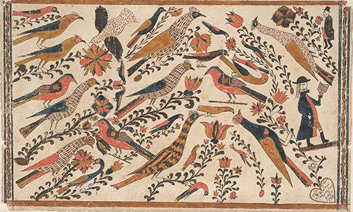 Flp Fraktur Detailed Results Art American Folk Art Scandinavian Folk Art