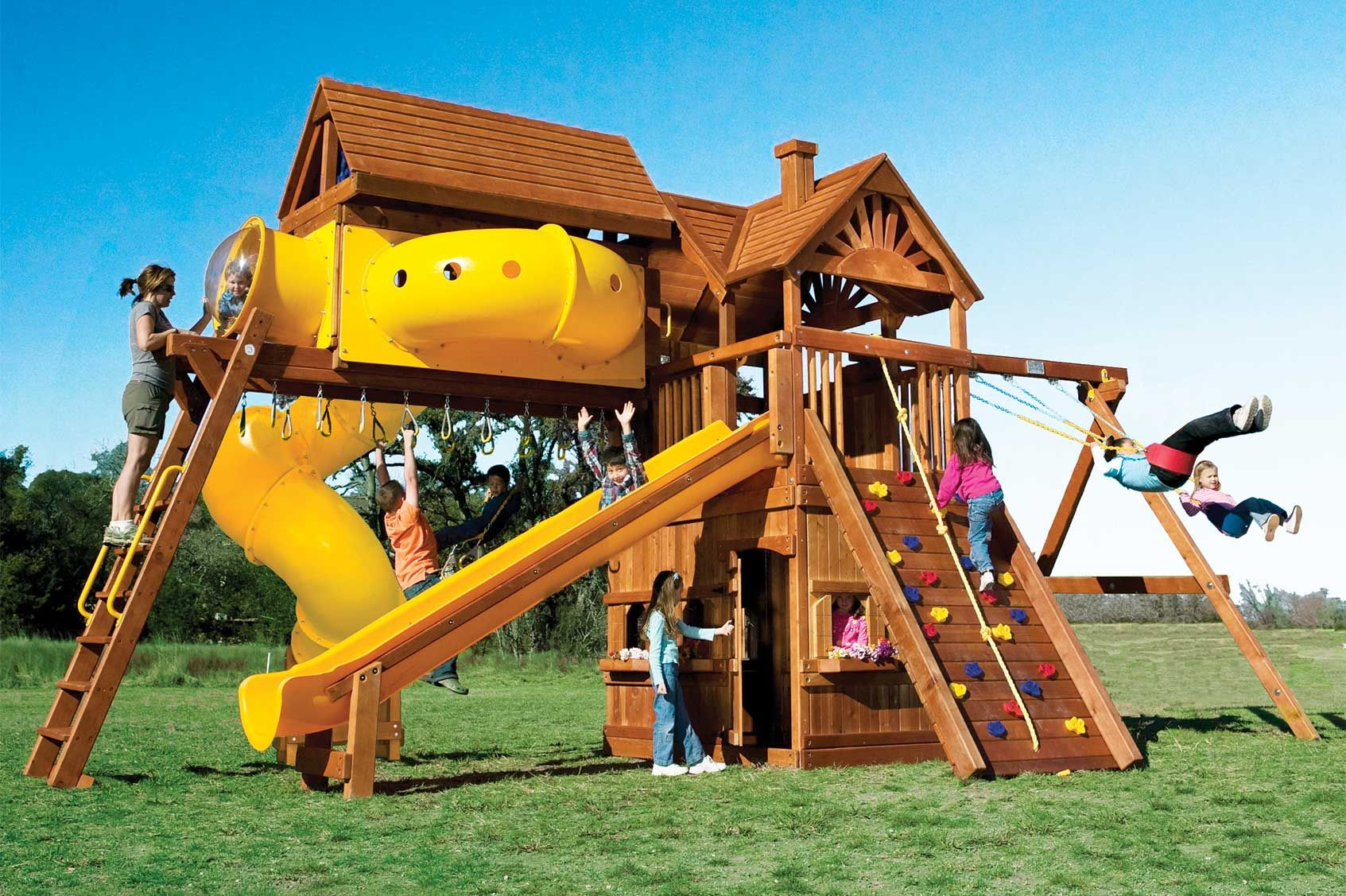 Swing Set Accessories Rainbow play systems, Club house