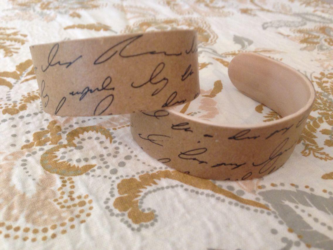 Handmade jumbo popsicle stick bracelet | bracelets | Pinterest ...
