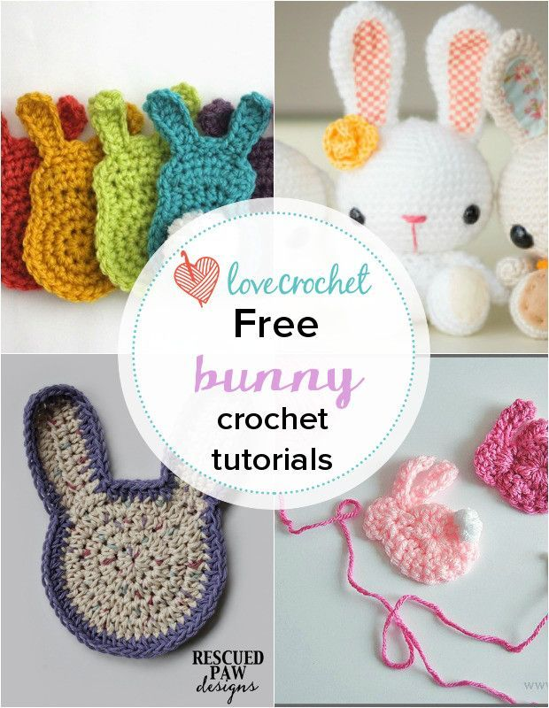 Pinteresting Projects: free bunny crochet patterns | lovely chochet ...