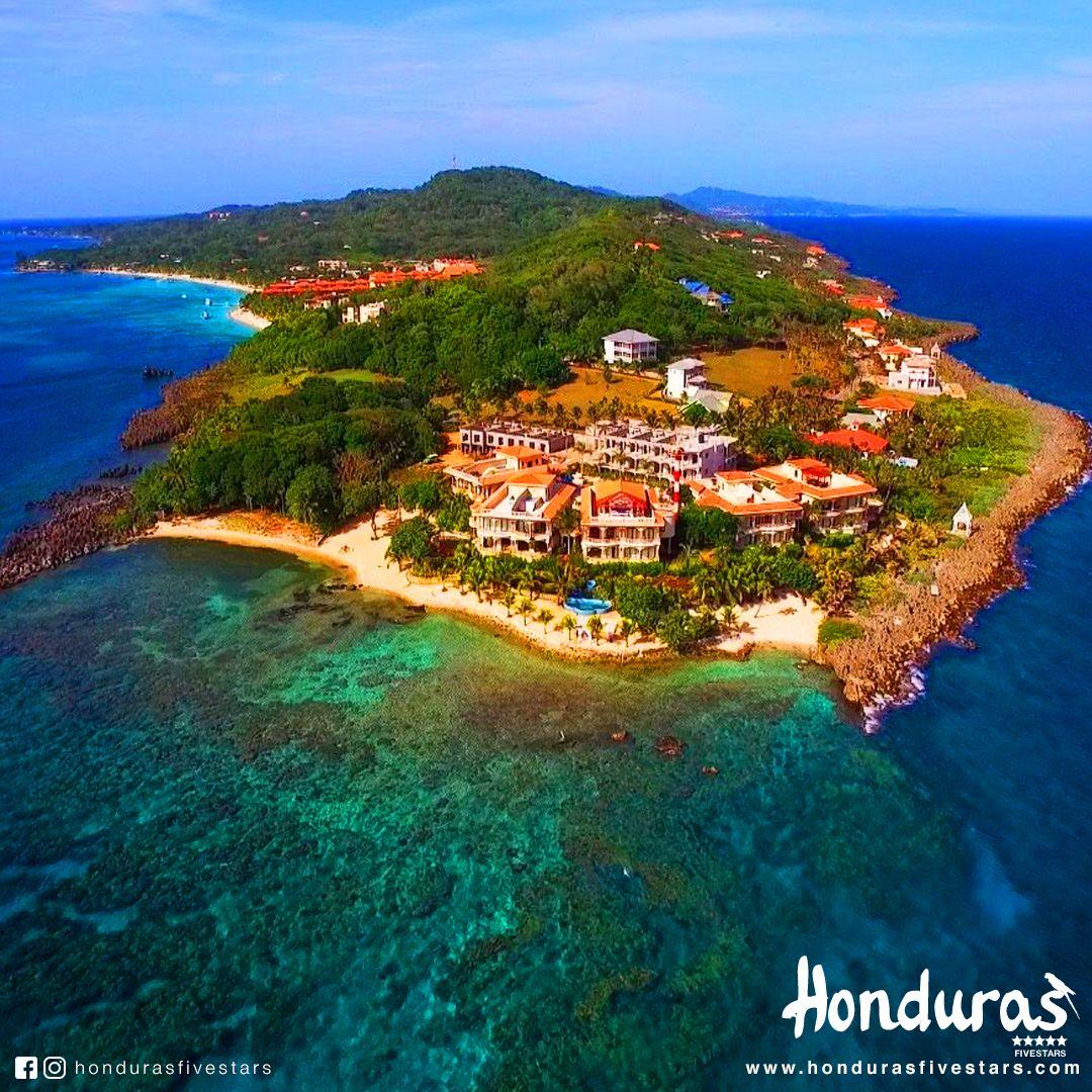 Roatán Es Una De Las Islas De La Bahía Del Caribe De Honduras Parte De La Enorme Barrera Coralina Mesoamericana Es C Honduras Travel Roatan Honduras Honduras
