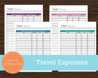 travel expenses tracker