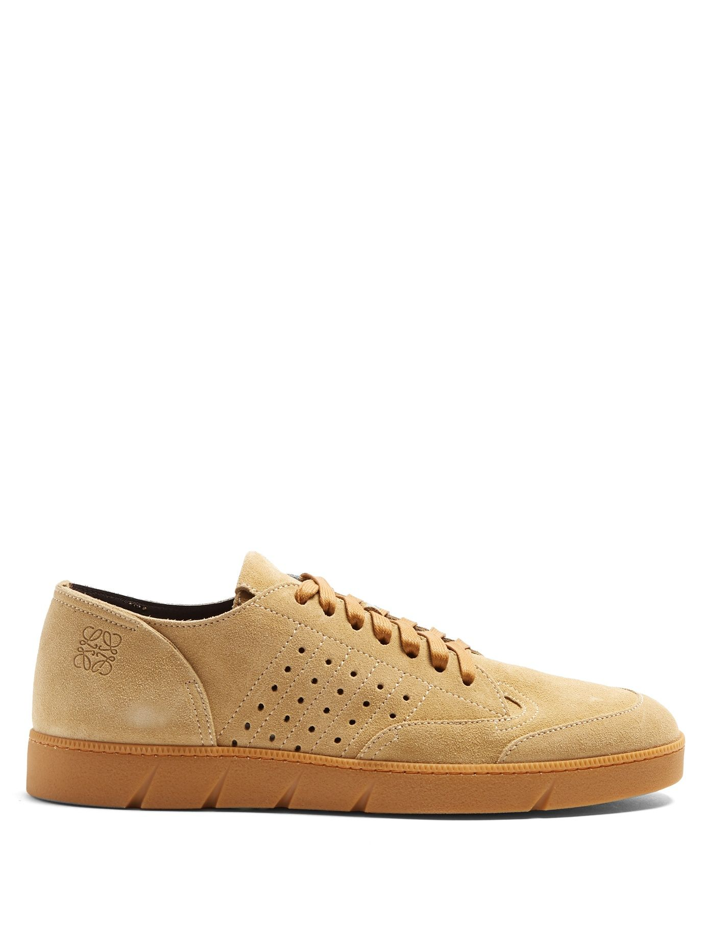 Low-top suede trainers | Loewe | MATCHESFASHION.COM UK