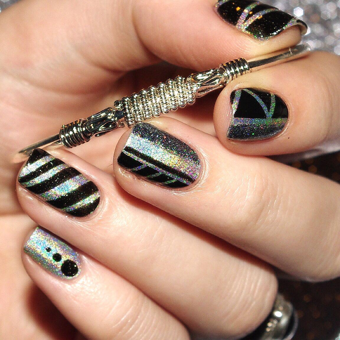 Nail Art Simple Sans Materiel: Art, Ongles Et Bulle De