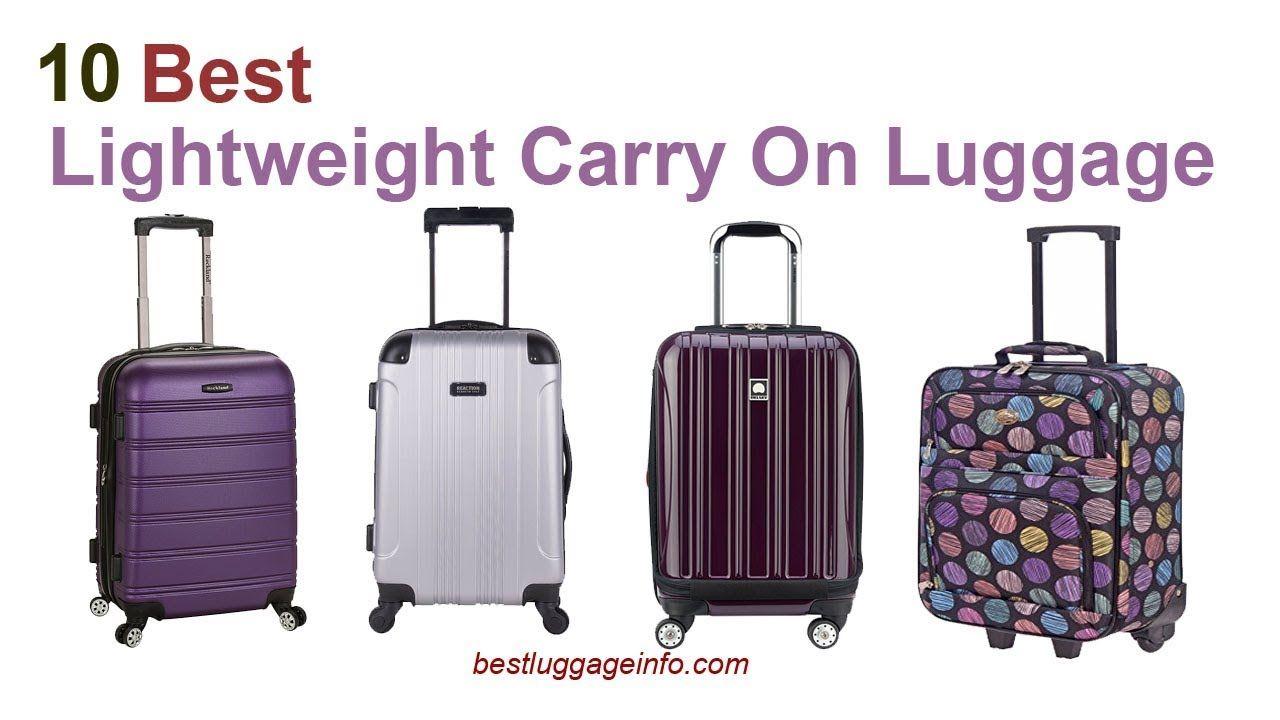 Best Lightweight Carry On Luggage Ten Best Cheap Lightweight Carry