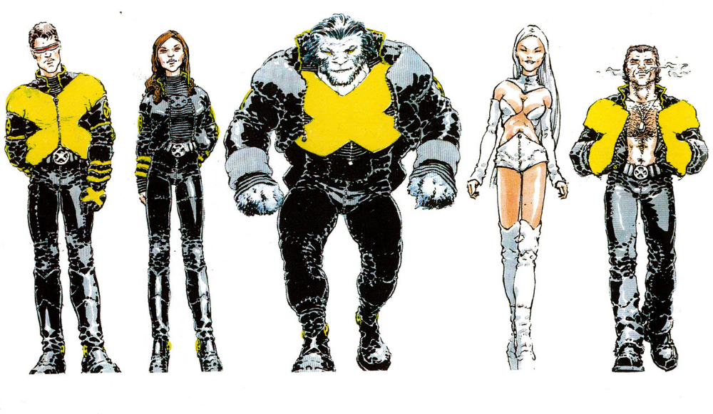 How The X Men Costumes Evolved Over Time Nerdist In 2020 X Men Costumes Marvel Superheroes Art Mens Costumes