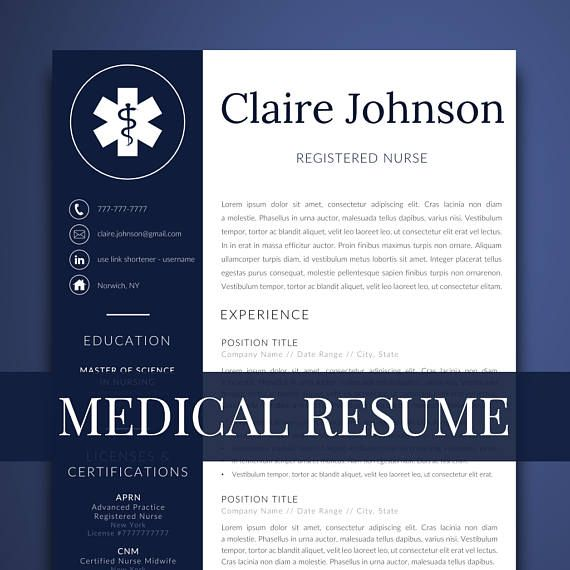 medical resume template for word nurse resume template - Resume Template Word Nurse
