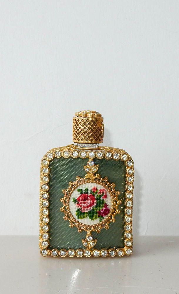 Vintage Austria Petit Point Perfume