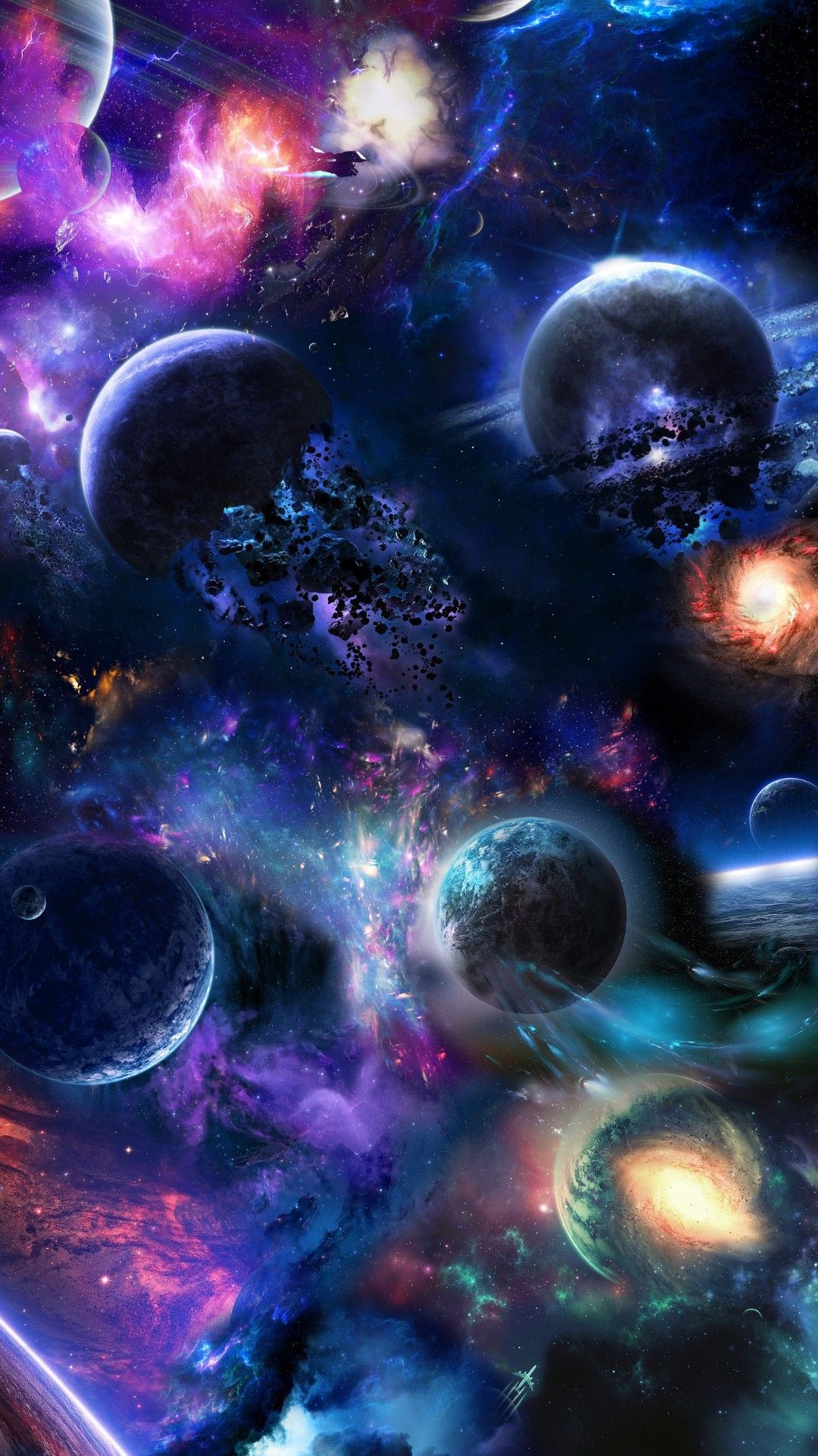 Amazing space background