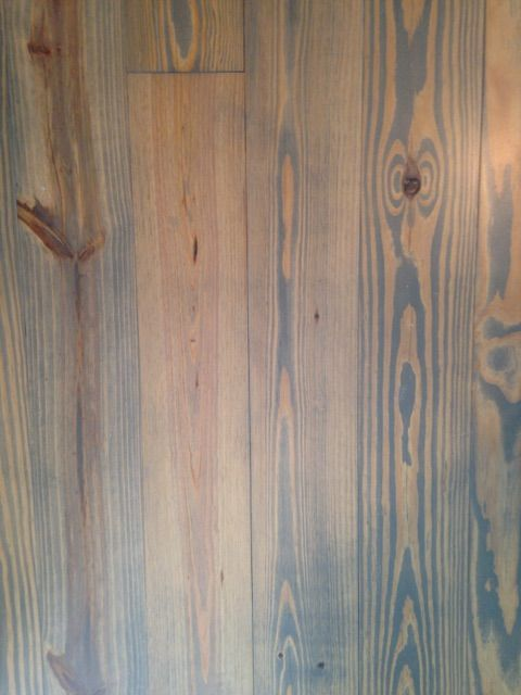 Gray Stained Southern Yellow Pine This Is Long Leaf 2 Or Better From Alabama Heart Pine Materials See Sap Bleed Pine Wood Flooring Wood Floors Flooring