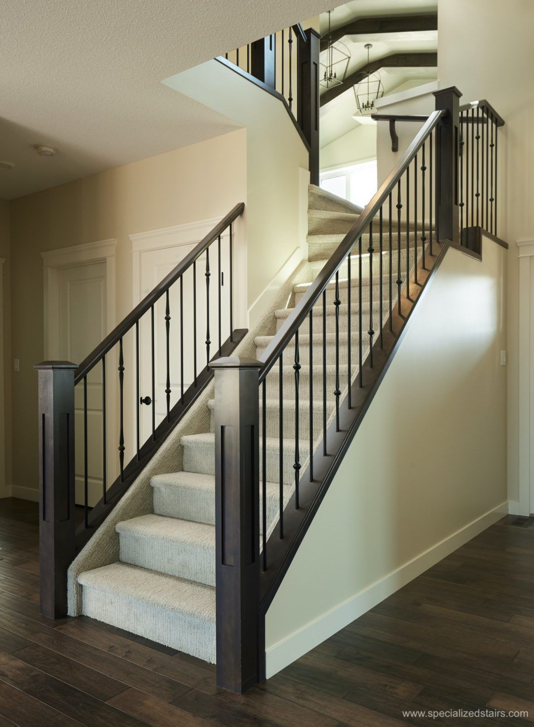 Best Contemporary Railing Staircase Remodel Contemporary 640 x 480