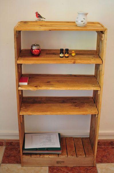 meuble tv et biblioth que cr ations et meubles en bois de palettes recycl es pinterest. Black Bedroom Furniture Sets. Home Design Ideas
