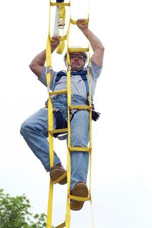 ROPE Ladders For Confined Space | ... rope guying ground anchors ...