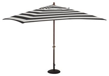 Black And White Striped Patio Umbrella Products On Houzz Pool