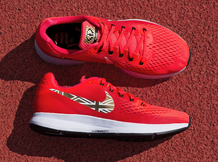 d22ae40151a7f The Nike Air Zoom Pegasus 34 Mo Farah - Learn More about this amazing  product on The Notice Centre